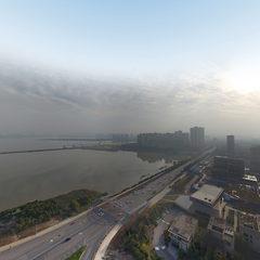 野芷湖的立交桥