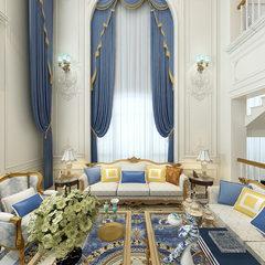 富丽堂皇的欧式客厅