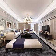素色新古典风格客餐厅设计