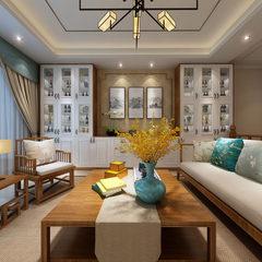 新中式客厅空间