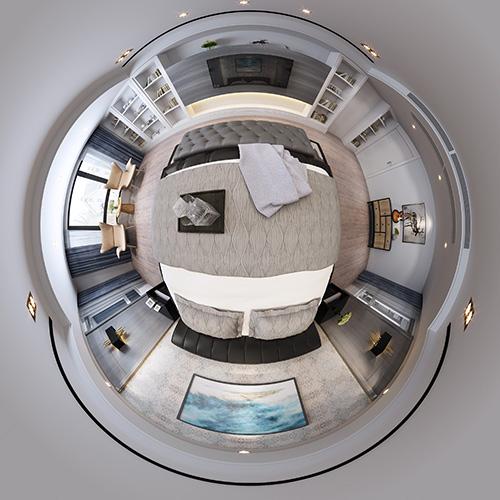 现代风格卧室定制设计