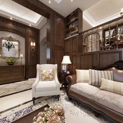 漂亮的美式客厅