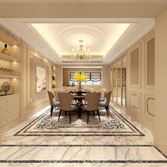 欧式客餐厅装修效果设计