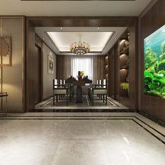 新中式客厅720全景