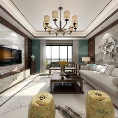 不一样的中式客厅