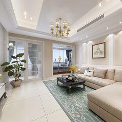 美式风格客厅效果图