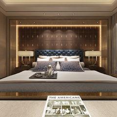 轻奢卧室设计效果图