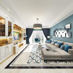 松木套色客厅