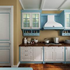 玛莎蓝套色-厨房