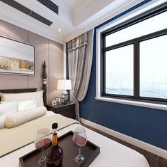 美式卧室720全景