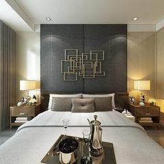 现代风格卧室装修效果