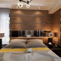 现代风格卧室定制设计效果图