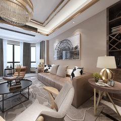 新古典风格客餐厅设计720全景