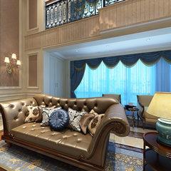 欧式豪宅客厅整装设计