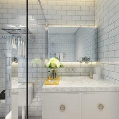 现代风格卫浴空间