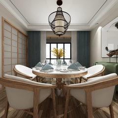 新中式风格客餐厅全景