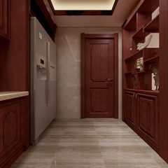 伯爵-中式-客厅-餐厅-橱柜全景2