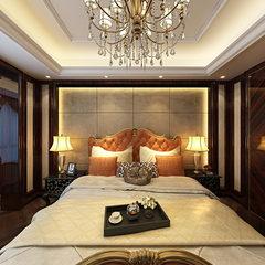 新时代古典风卧室设计