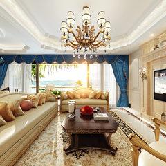 靓丽的新古典客厅设计